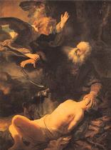 Rembrandt van Rijn: Ofiara Izaaka